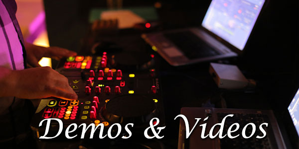 Demos & Videos | wedding DJ in Bali